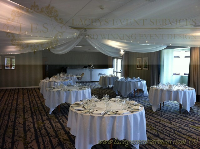 0 Comments & Farleigh Golf Club Surrey Fairy light Ceiling Canopy for Wedding ...