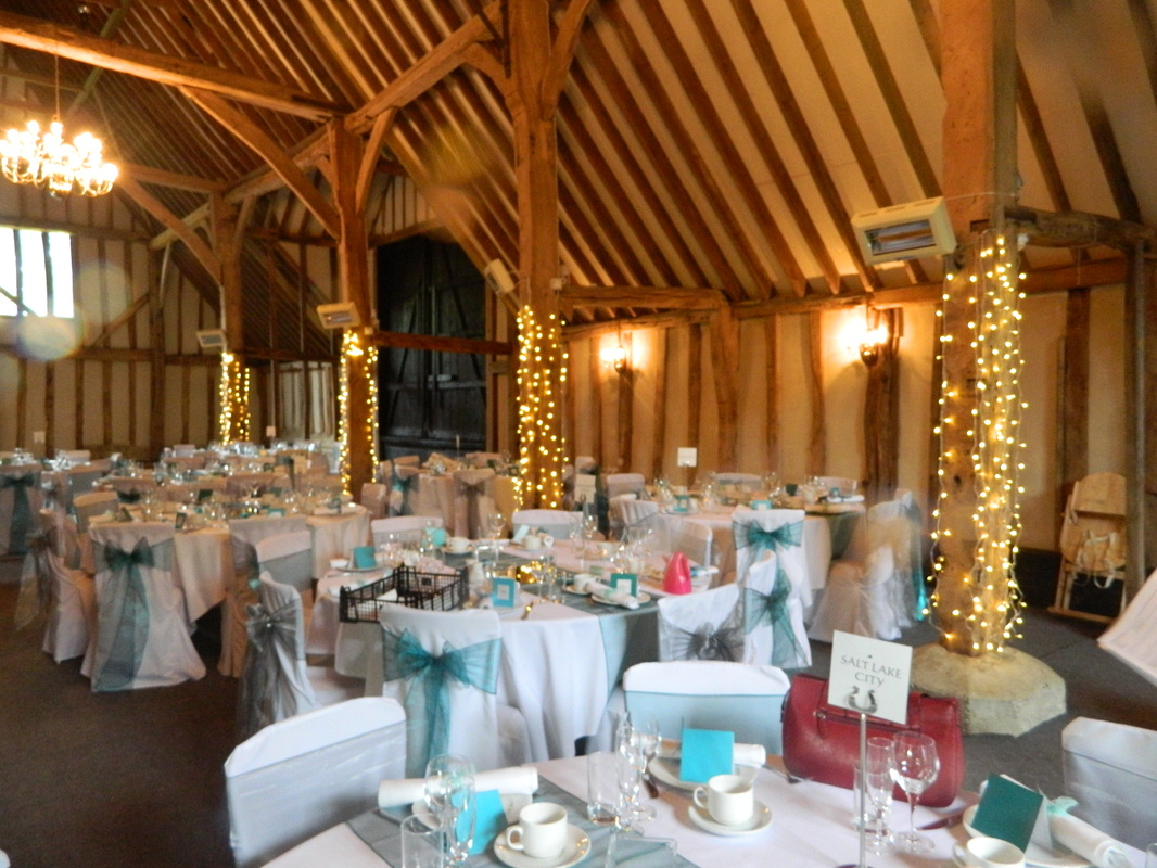 Beams In The Barn At Blake Hall Ongar Es As Venue Has Minimal Natural Light It Created A Wonderful Ambience Throughout Room